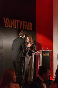 LOURDES GARZON; RAFA NADAL, Vanity Fair Person of the year. Italian Consulate. Madrid. 17 September 2012.