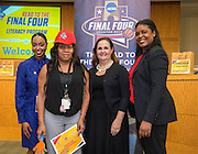 Cook Elementary School is recognized during the reveal of the 32 finalists in the Houston ISD NCAA Read to the Final Four, November 11, 2015.