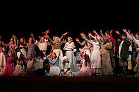 "Gilford Middle School dress rehearsal for ""Beauty and the Beast"".  Karen Bobotas/for the Laconia Daily Sun"