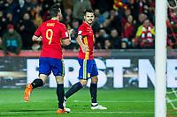 Spain's Aritz Aduriz Vitolo Machin  during the match of European qualifying round between Spain and Macedonia at Nuevo Los Carmenes Stadium in Granada, Spain. November 12, 2016. (ALTERPHOTOS/Rodrigo Jimenez)