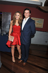 KIMBERLEY WALSH and NIGEL HARMAN at the What's On Stage Awards 2012 held at the Prince of wales Theatre, London on 19th February 2012.