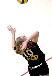 04-03-2006 VOLLEYBAL: FINAL 4 DAMES: AMVJ - PLANTINA LONGA: ROTTERDAM<br /> Longa was veel te sterk voor de dames uit Amstelveen (3-0) / Marloes Wesselink<br /> Copyrights 2006 WWW.FOTOHOOGENDOORN.NL