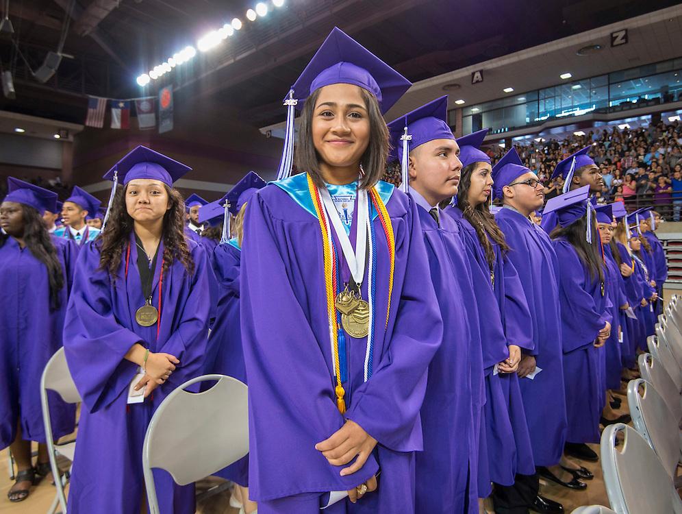 Davis High School graduation ceremony, May 31, 2015.