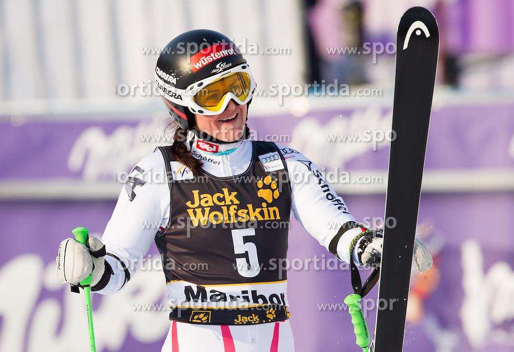 "GOERGL Elisabeth of Austria during FIS Alpine Ski World Cup 7th Ladies' Giant Slalom race named ""49th Golden Fox 2013"", on January 26, 2013 in Mariborsko Pohorje, Maribor, Slovenia. (Photo By Vid Ponikvar / Sportida.com)"