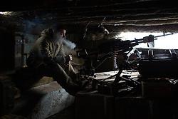 Ukraina<br /> <br /> Alexander från Sibirien i Ryssland strider med DPR, Donetsk People Republic, mot Ukraina. Han är placerad i Spartak utanför Donetsk.<br /> <br /> Photo: Niclas Hammarström