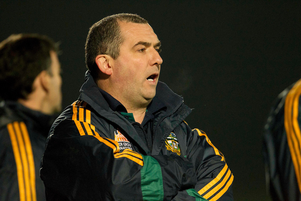 Fitzsimons Cup Final at Pairc Tailteann, Navan..Meath vs Armagh.Meath Manager, Seamus McEnaney pictured on the sideline of the Fitzsimons cup against Armagh.Photo: David Mullen / www.cyberimages.net © 2011