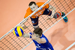 Tim Smit of The Netherlands during volleyball match between national teams of Slovenia and Netherlands of 2018 CEV volleyball Godlen European League, on June 6, 2018 in Arena Bonifika, Koper, Slovenia. Photo by Urban Urbanc / Sportida