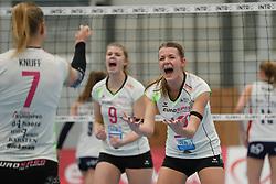 20190131 NED: Semi Final Cup Sliedrecht Sport - Eurosped, Sliedrecht <br />Rochelle Wopereis (12) of Team Eurosped Twente<br />©2019-FotoHoogendoorn.nl / Pim Waslander