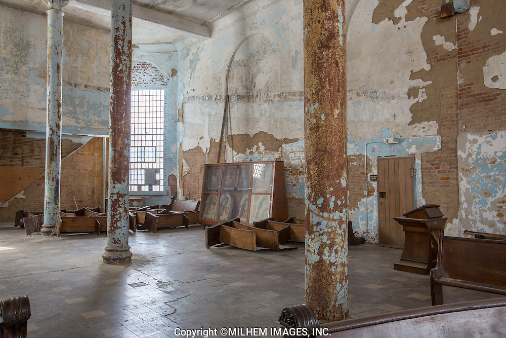 Mansfield Reformatory in Mansfield, Ohio was the setting for the film Shawshank Redemption.