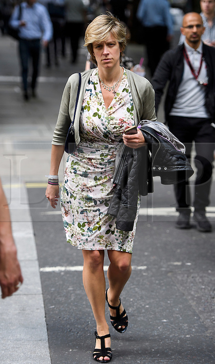 © Licensed to London News Pictures. 24/06/2016. London, UK. CHARLOTTE LESLIE MP in Westminster, London on the day that the UK voted to leave the EU in a referendum. Photo credit: Ben Cawthra/LNP