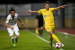 Lovro Bizjak of Domzale during football match between NK Domzale and NK Rudar in Round #2 of Prva liga Telekom Slovenije 2018/19, on April 29, 2018 in Sports Park Domzale, Domzale, Slovenia. Photo by Urban Urbanc / Sportida