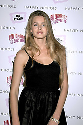 Actress and model VANESSA HESSLER at a party to celebrate the launch of Billionaire Boys Club Ice Cream Season 7 at Harvey Nichols, Knightsbridge, London on 18th June 2008.<br />