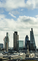 Oct. 10, 2014 - City of London financial district, London, England, UK (Credit Image: © Image Source/Image Source/ZUMAPRESS.com)