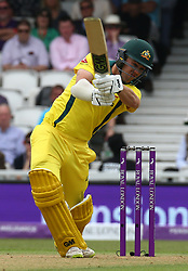 June 13, 2018 - London, England, United Kingdom - Travis Head of Australia.during One Day International Series match between England and Australia at Kia Oval Ground, London, England on 13 June 2018. (Credit Image: © Kieran Galvin/NurPhoto via ZUMA Press)