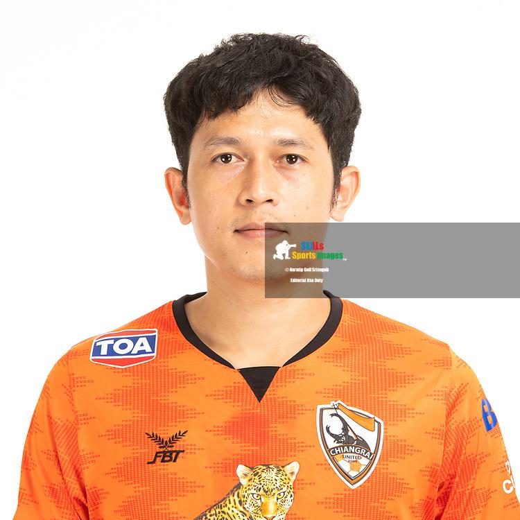THAILAND - JUNE 04: Piyaphon Phanitchakun #4 of Singha Chiangrai United on June 04, 2019.<br /> .<br /> .<br /> .<br /> (Photo by: Naratip Golf Srisupab/SEALs Sports Images/MB Media Solutions)
