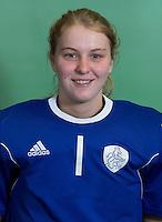 DELFT - Julia Remmerswaal. Nederlands zaalhockeyteam dames voor EK in Minsk. COPYRIGHT KOEN SUYK