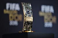 Zurich (Svizzera) 11/01/2016 - Fifa Ballon d'Or 2015 Pallone d'Oro / foto Matteo Gribaudi/Image Sport/Insidefoto<br /> nella foto: pallone d'Oro femminile