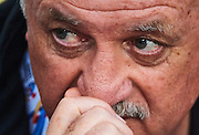 GUANGZHOU, CHINA - MAY 03:  Head coach of Guangzhou Evergrande Luiz Felipe Scolari looks on during the AFC Asian Champions League match between Guangzhou Evergrande FC and Sydney FC at Tianhe Stadium on May 3, 2016 in Guangzhou, China.  (Photo by Aitor Alcalde Colomer/Getty Images)