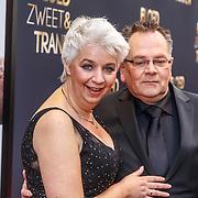 NLD/Amsterdam/20150330 - Premiere Bloed, Zweet en Tranen, Theo Hazes en partner