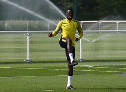 September 12, 2017 - Enfield, Greater London, United Kingdom - Tottenham Hotspur's Serge Aurier.during a Tottenham Hotspur training session ahead of the UEFA Champions League Group H match against Borussia Dortmund  at Tottenham Hotspur Training centre on 12 Sept , 2017 in Enfield, England. (Credit Image: © Kieran Galvin/NurPhoto via ZUMA Press)