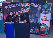 KELOWNA, CANADA - DECEMBER 30:  Tim Hortons at the Kelowna Rockets game on December 30, 2017 at Prospera Place in Kelowna, British Columbia, Canada.  (Photo By Cindy Rogers/Nyasa Photography,  *** Local Caption ***