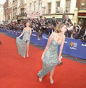 Claire Sweeney. TV Bafta Awards. 21 April 2002. © Copyright Photograph by Dafydd Jones 66 Stockwell Park Rd. London SW9 0DA Tel 020 7733 0108 www.dafjones.com