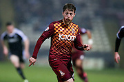 Bradford City forward Billy Clarke  during the Sky Bet League 1 match between Bradford City and Barnsley at the Coral Windows Stadium, Bradford, England on 26 January 2016. Photo by Simon Davies.