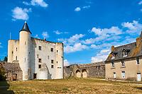 France, Vendée (85), Noirmoutier, Noirmoutier-en-l'Ile, le chateau // France, Vendée, Noirmoutier, Noirmoutier-en-l'Ile, the castel