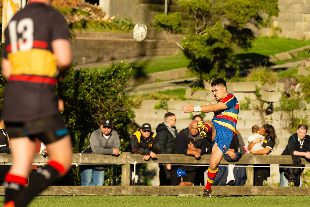 Rugby union game played between Tawa v Paremata-Plimmerton, on 2 June 2018, at Lyndhurst Park, Tawa, Wellington, New  Zealand.    Tawa won 62-14.
