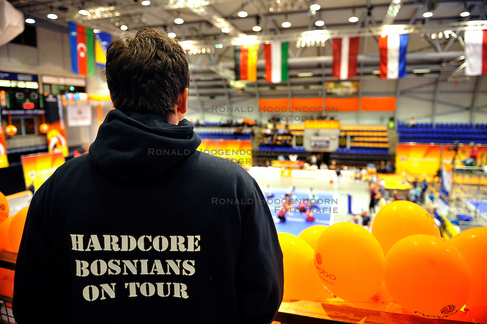 15-10-2011 VOLLEYBAL: EUROPEAN CHAMPIONSHIP SITTING VOLLEYBALL FINAL RUSSIA - BOSNIA HERZEGOVINA: ROTTERDAM<br /><br />&copy;2011-FotoHoogendoorn.nl