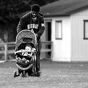 """Desmond Gordon, a 35-year-old union electrician, is the father of four children: three girls and one boy. When asked what fatherhood means to him, Desmond responded """"Fatherhood definitely means responsibility, guidance, protection, counsel. It's scary. It's emotional. I have a lot of fun as a dad. I look at the world differently now because kids teach you things that adults won't."""""""