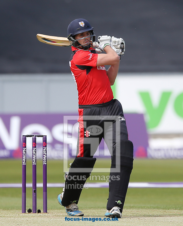 Calum MacLeod of Durham Jets batting during the Natwest T20 Blast match at Emirates Durham ICG, Chester-le-Street<br /> Picture by Simon Moore/Focus Images Ltd 07807 671782<br /> 06/06/2015