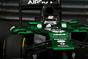 May 22, 2014: Monaco Grand Prix: Caterham f1 team