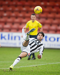 Dunfermline&rsquo;s Faissal El Bahktaoui. <br /> Dunfermline 3 v 2 Ayr United, Scottish League One played at East End Park, 13/2/2016.
