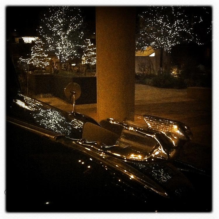 Rolls Royce hood ornament - Austin, Texas
