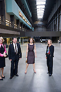 Vicente Todoli; Crown Princess Mary of Denmark; Sheena Wagstaff , Per Kirkeby Opening Reception and Dinner. Tate Modern. 16 June 2009.