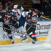 110116 Kamloops Blazers at Kelowna Rockets