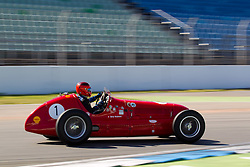 17.04.2010, Hockenheimring, Hockenheim, Hockenheim Historic, Race History On Track, im Bild von links Georg Kaufmann, Maserati 4CLT, EXPA Pictures © 2010, PhotoCredit: EXPA/ A. Neis / SPORTIDA PHOTO AGENCY