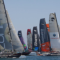 iSHARES CUP 2009-HYERES-COPYRIGHT : THIERRY SERAY.FLEET AT START