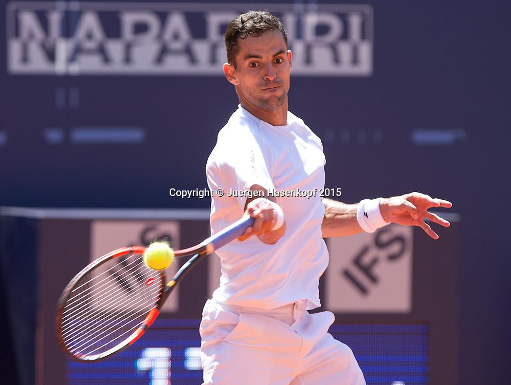 Santiago Giraldo (COL)<br /> <br /> Tennis - Generali-Kitzbuehel-Open2015 - ATP 250 -  Kitzbuehler Tennis Club - Kitzbuehel - Tirol - Oesterreich  - 5 August 2015. <br /> &copy; Juergen Hasenkopf