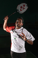 Rajiv Ouesph England Badminton, World Championship Photoshoot, NBC, Milton Keynes, England, 2011