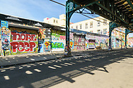 5 Pointz, Aerosol Art Center, is an outdoor art exhibit space in Long Island City, considered to be the world's premiere graffiti spot,Queens, New York City, New York, USA
