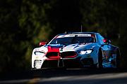 October 11-13, 2018: IMSA Weathertech Series, Petit Le Mans: 25 BMW Team RLL, BMW M8 GTLM, Alexander Sims, Connor De Phillippi, Bill Auberlen