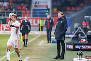 Markus Gisdol, head coach of Hamburger SV during the Bundesliga match at Audi Sportpark, Ingolstadt<br /> Picture by EXPA Pictures/Focus Images Ltd 07814482222<br /> 28/01/2017<br /> *** UK & IRELAND ONLY ***<br /> <br /> EXPA-EIB-170128-1403.jpg