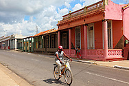Bicycle in San Cristobal, Artemisa, Cuba.