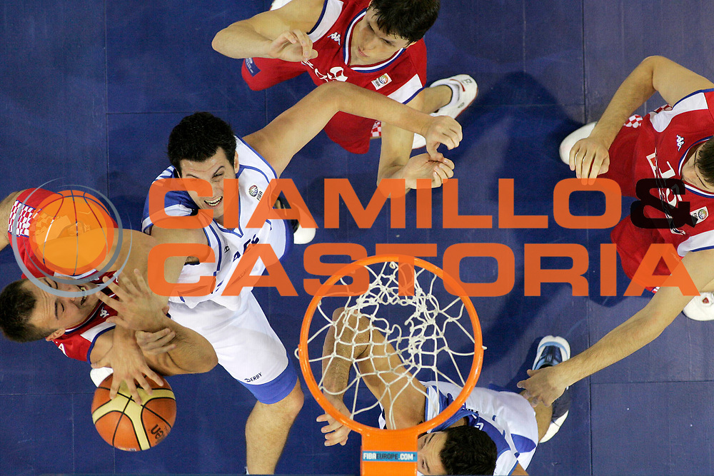 DESCRIZIONE : Madrid Spagna Spain Eurobasket Men 2007 Qualifying Round Israele Croazia Israel Croatia <br /> GIOCATORE : Yaniv Green <br /> SQUADRA : Israele Israel <br /> EVENTO : Eurobasket Men 2007 Campionati Europei Uomini 2007 <br /> GARA : Israele Croazia Israel Croatia <br /> DATA : 07/09/2007 <br /> CATEGORIA : Special <br /> SPORT : Pallacanestro <br /> AUTORE : Ciamillo&amp;Castoria/A.Vlachos <br /> Galleria : Eurobasket Men 2007 <br /> Fotonotizia : Madrid Spagna Spain Eurobasket Men 2007 Qualifying Round Israele Croazia Israel Croatia <br /> Predefinita :