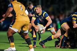 Michael Dowsett of Worcester Warriors in action - Rogan Thomson/JMP - 04/11/2016 - RUGBY UNION - Sixways Stadium - Worcester, England - Worcester Warriors v Bristol Rugby - The Anglo Welsh Cup.