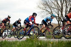 Ane Santesteban (ESP) at Healthy Ageing Tour 2019 - Stage 5, a 124.3 km road race in Midwolda, Netherlands on April 14, 2019. Photo by Sean Robinson/velofocus.com