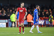 Crawley Town forward James Collins (19), scorer of Crawley Town's first goal during the EFL Sky Bet League 2 match between Crawley Town and Hartlepool United at the Checkatrade.com Stadium, Crawley, England on 14 January 2017. Photo by David Charbit.