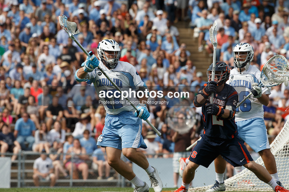 CHAPEL HILL, NC - APRIL 11: Austin Pifani #17 of the North Carolina Tar Heels plays against the Syracuse Orange on April 11, 2015 at Fetzer Field in Chapel Hill, North Carolina. North Carolina won 17-15. (Photo by Peyton Williams/US Lacrosse/Getty Images) *** Local Caption *** Austin Pifani